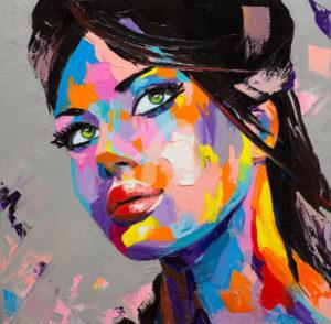 Портрет абстракция